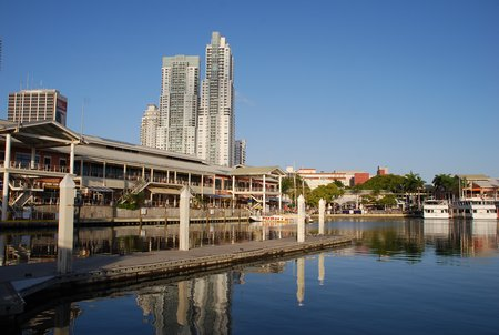 April 2012 Dream SeQueL Trip 014 -Part of the Bayside shopping area adjacent to the MiaMarina