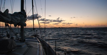 April 2012 Dream SeQueL Trip 067 -We re-anchored the ship off Fox Town at 6 am -1